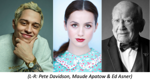Pete Davidson To Play George In 'It's A Wonderful Life' Table Read; Maude Apatow Also Joins Ed Asner's Holiday Event