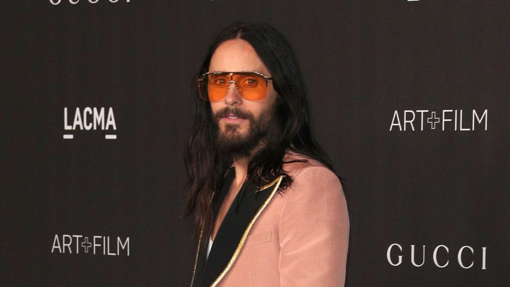 """Jared Leto Says He Was """"Teargassed"""" During Italian Covid Pass Protest"""