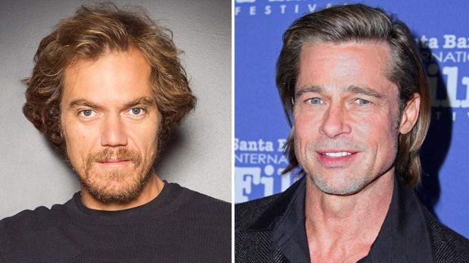 Michael Shannon ve Brad Pitt