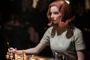 Anya Taylor-Joy in 'The Queen's Gambit'