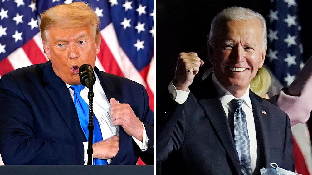 Donald count vs hillary vote Clinton vs.