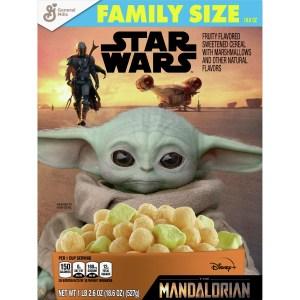 Mandolorian General Mills cereal