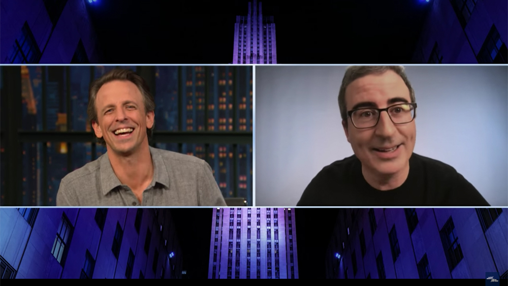 John Oliver Reveals Origin Of 'Last Week Tonight' Adam Driver Obsession To Seth Meyers