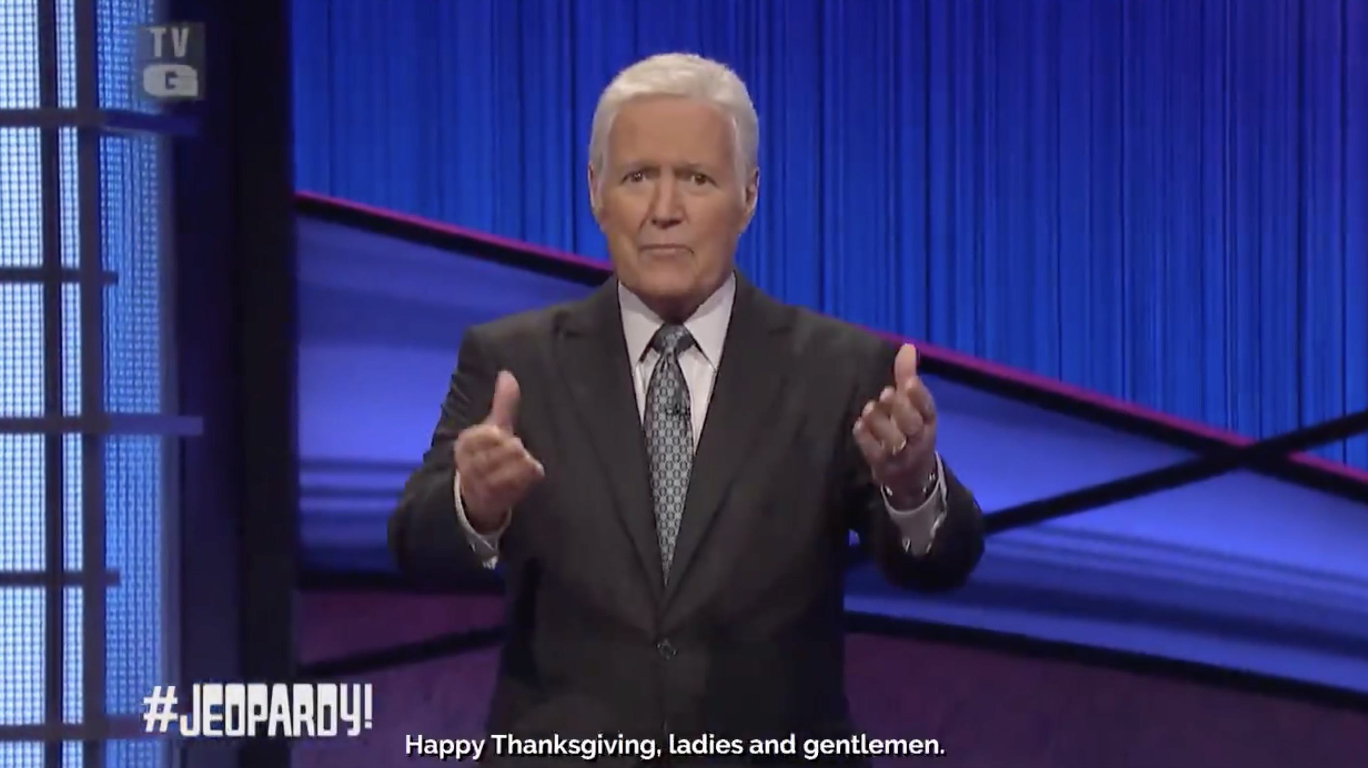 "Alex Trebek's Posthumous Thanksgiving Message To America: ""Keep The Faith"""