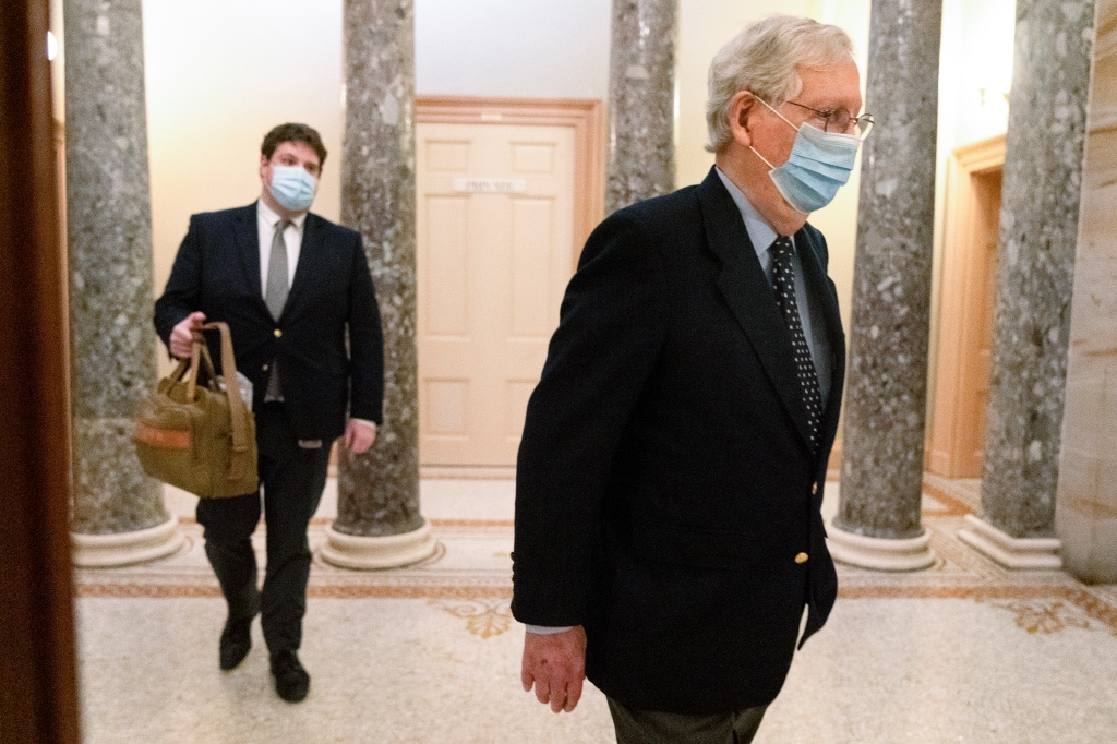 """Mitch McConnell Ties $2,000 Covid-19 Relief Checks To Repeal Of Section 230; Democrats Call It A """"Poison Pill"""""""