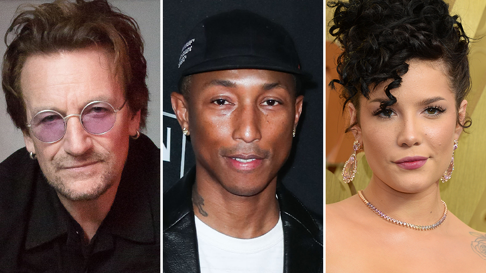 U2's Bono, Pharrell Williams, Halsey Join Illumination/Universal's Animated Film 'Sing 2' - Deadline
