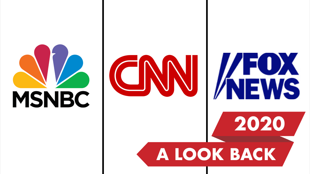 Cable News Networks See Big Gains In Viewership During Tumultuous 2020