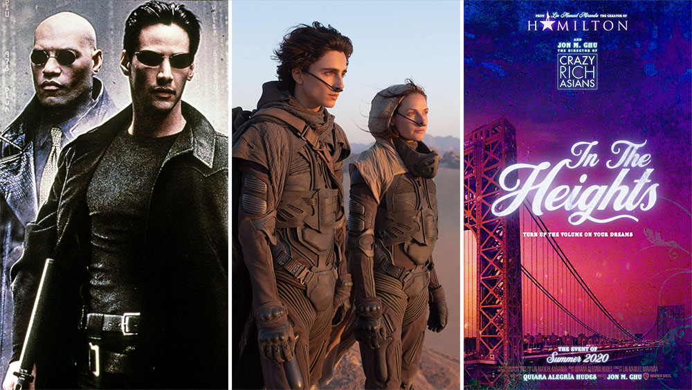 Warner Bros 2021 Movie Slate Moving To Hbo Max Releases Matrix 4 Dune Deadline