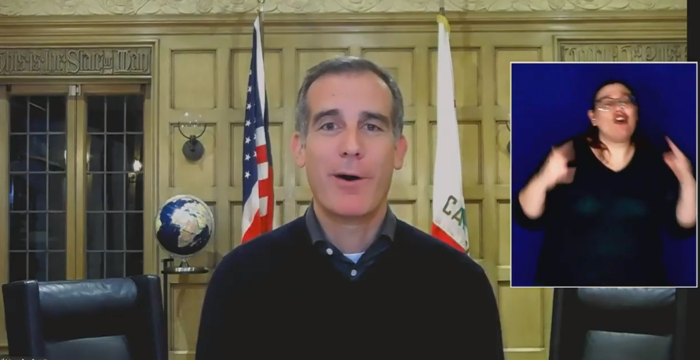 L.A. Mayor Eric Garcetti Out Of Town On Personal Trip As City, County Attempt To Reopen.jpg