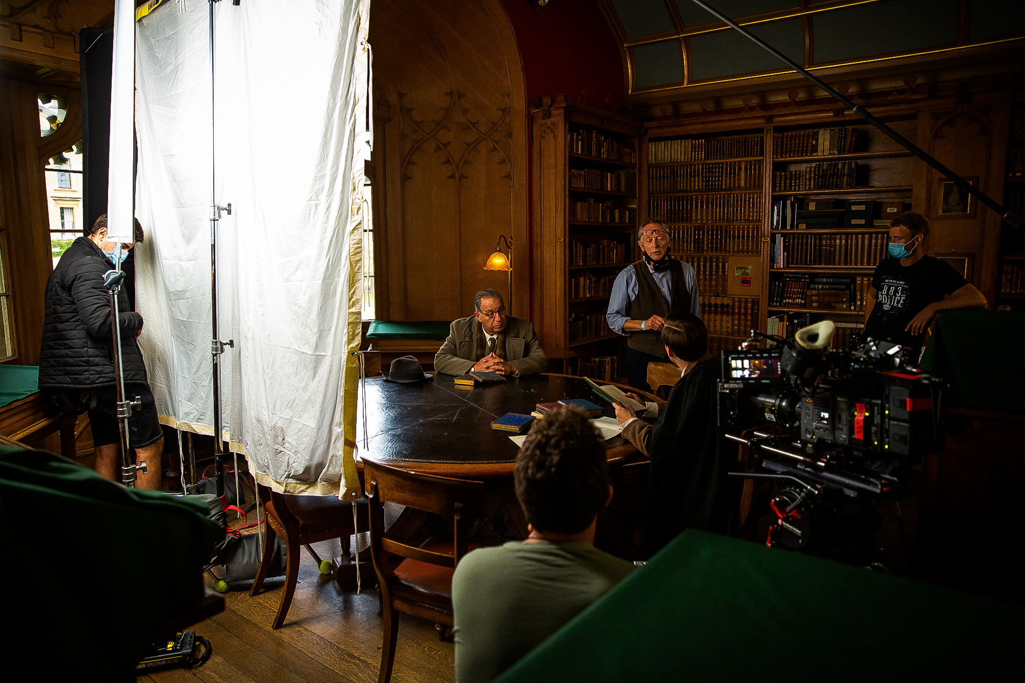 """Production Wraps on C. S. Lewis Biopic """"The Most Reluctant Convert"""""""