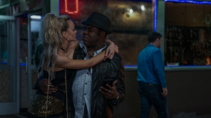 Carey Mulligan and Sam Richardson in 'Promising Young Woman'