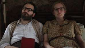 Elisabeth Moss and Michael Stuhlbarg in 'Shirley'