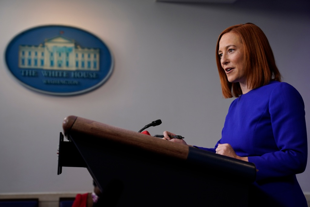 "White House Press Secretary Jen Psaki, In Debut, Pledges To Bring ""Truth And Transparency Back To The Briefing Room"""
