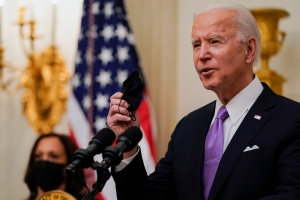 "Joe Biden Announces ""Wartime Effort"" Against Covid-19; Includes Speedier Vaccine Distribution, ""Full Force Of Federal Government Behind Testing"""
