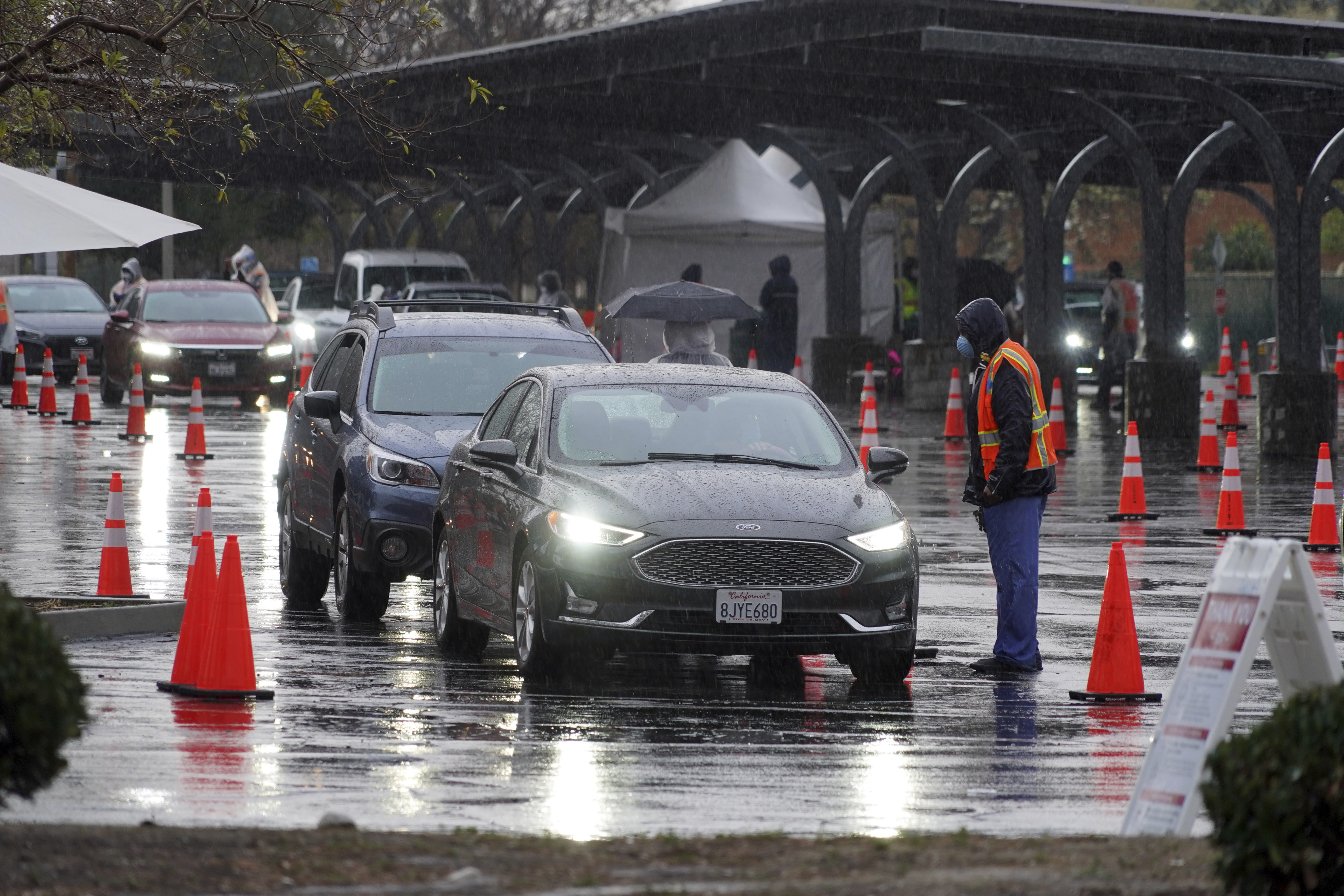Los Angeles Still Suffering Near-Record Daily Covid-19 Deaths; Toll Expected To Remain High For Weeks Even As Cases Drop