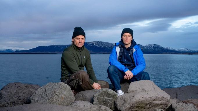 Nikolaj Coster-Waldau and Joe Cole