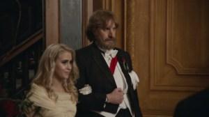 Maria Bakalova and Sacha Baron Cohen in 'Borat Subsequent Moviefilm'