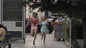 Sacha Baron Cohen and Maria Bakalova in 'Borat Subsequent Moviefilm'