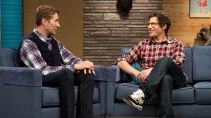 Scott Aukerman and Andy Samberg in 'Comedy Bang! Bang!'