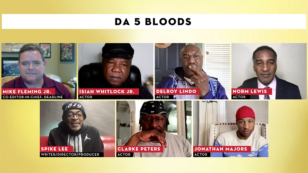 Spike Lee And His 'Da 5 Bloods' Cast On Tackling Racism In Vietnam, Working With Chadwick Boseman & More – Contenders Film