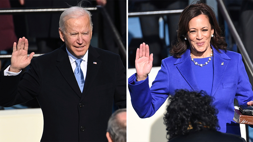 Inauguration Of President Joe Biden & VP Kamala Harris: The Day In Pictures