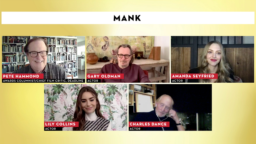 'Mank' Cast On Transporting Into The Golden Age For David Fincher's Ode To 'Citizen Kane' Scribe – Contenders Film
