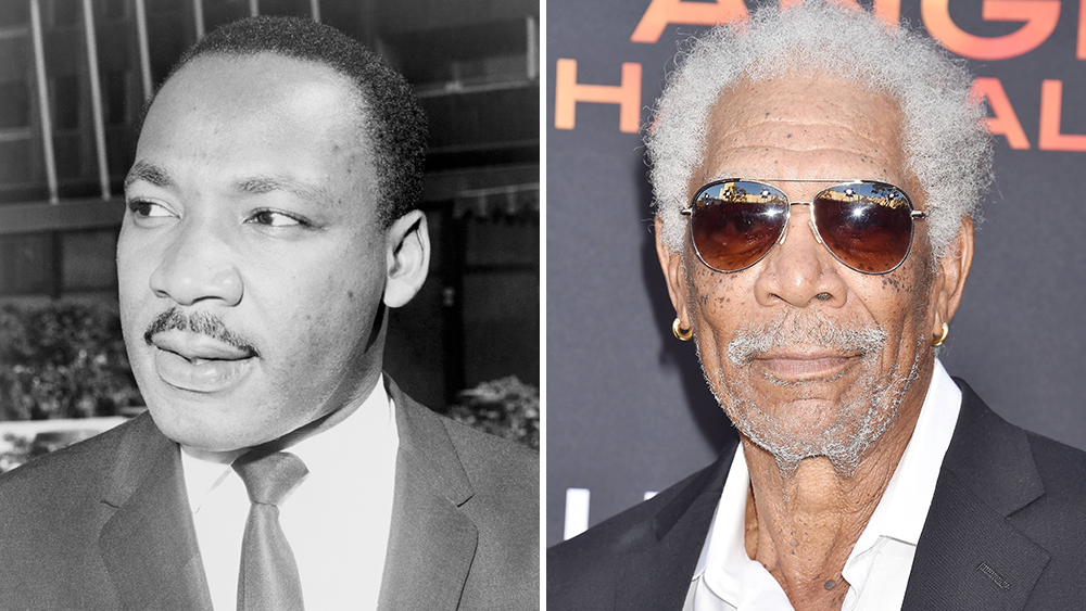 Martin Luther King Jr's Words Fuel 12 Videos Created By Morgan Freeman To Run On MLK Day