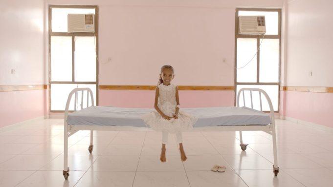 Omeima in 'Hunger Ward'