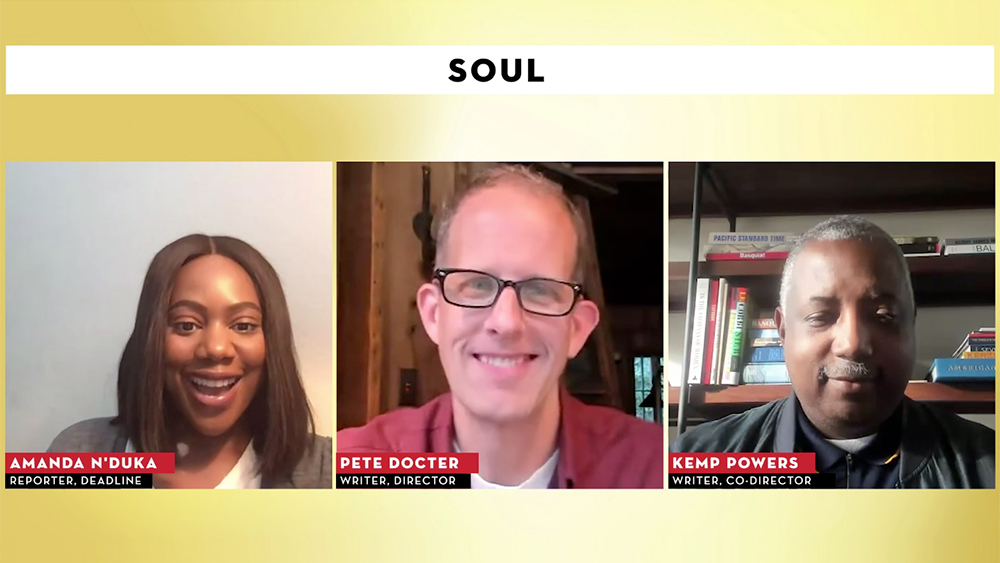 "'Soul' Duo Says Pixar Movie Is ""Investigation Into What's Really Going On In Life"" – Contenders Film"