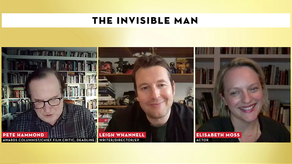 Elisabeth Moss And Leigh Whannell Talk Legacy And Muscles Behind 'The Invisible Man' – Contenders Film