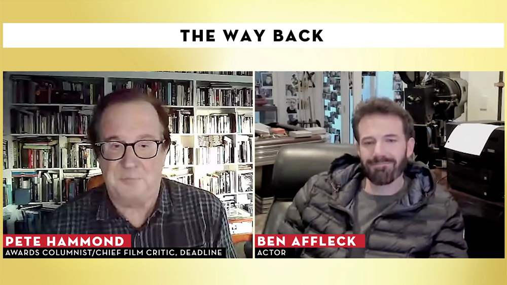 "Ben Affleck Says Studio Character Dramas Like 'The Way Back' Are His Taste: ""They Don't Do Them As Much Anymore"" – Contenders Film"