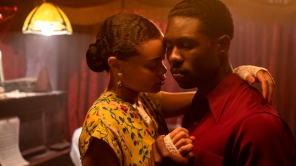 Andra Day and Trevante Rhodes in 'The United States vs. Billie Holiday'