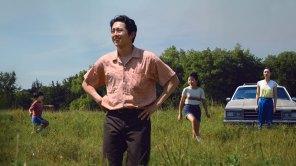Steven Yeun, Yeri Han, Alan S. Kim and Noel Cho in 'Minari'