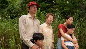 Steven Yeun, Yeri Han, Alan S. Kim, Noel Cho and Yuh-jung Youn in 'Minari'