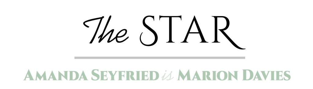 The Star - Amanda Seyfried is Marion Davies