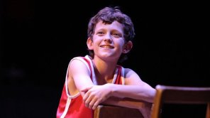 Tom Holland in a production of 'Billy Elliot'