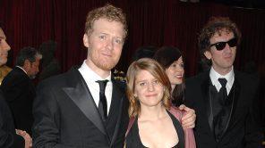 Glen Hansard and Marketa Irglova arrive at the 80th Academy Awards
