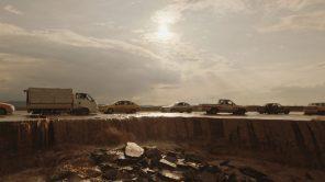 Iraq-Syria border road in 'Notturno'