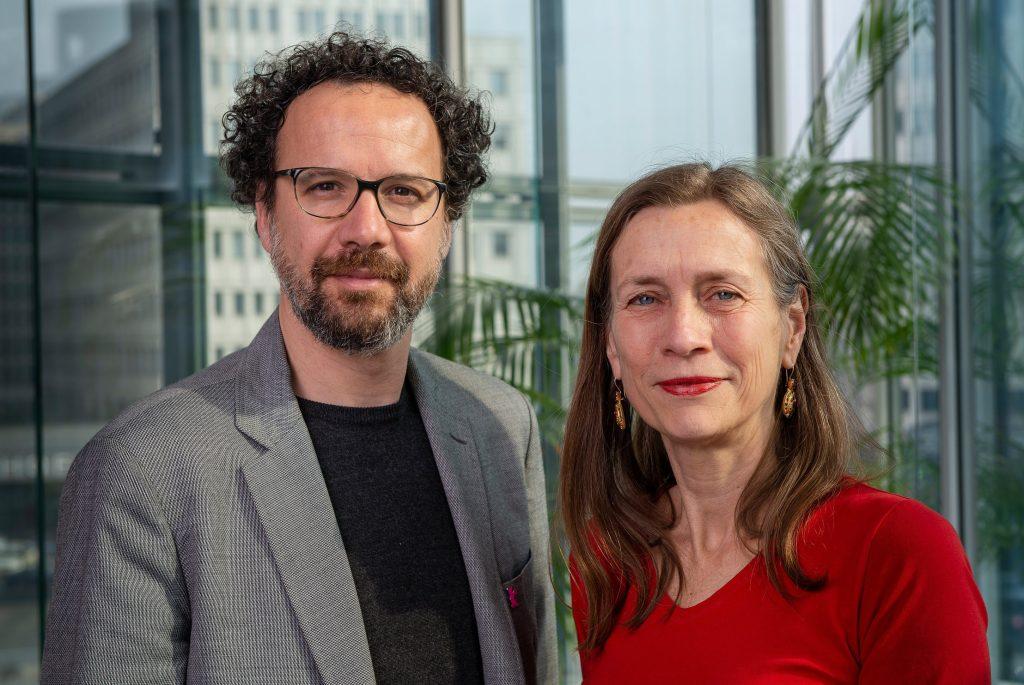 Mariette Rissenbeek and Carlo Chatrian