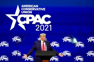 News Networks Take Contrasting Approaches To Covering Donald Trump's CPAC Speech