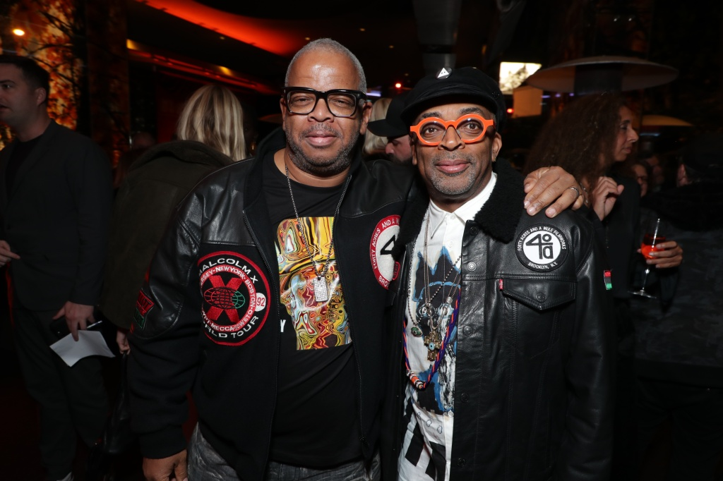 Terence Blanchard and Spike Lee at the premiere of BlacKkKlansman