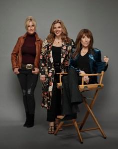 Erin Brokovich, Krista Vernoff, and Katey Sagal for 'Rebel'