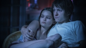 Tom Holland and Ciara Bravo in 'Cherry'