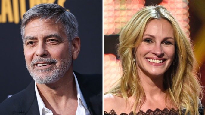 George Clooney & Julia Roberts Re-Team In New Film 'Ticket To Paradise' Clooney-Roberts