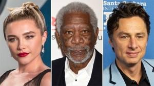Florence Pugh, Morgan Freeman, Zach Braff