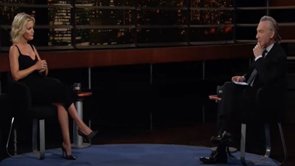 "Bill Maher & Megyn Kelly Talk Race, Kids, Sexuality & ""Victimhood"" On 'Real Time': ""This Is Hyperbole"".jpg"