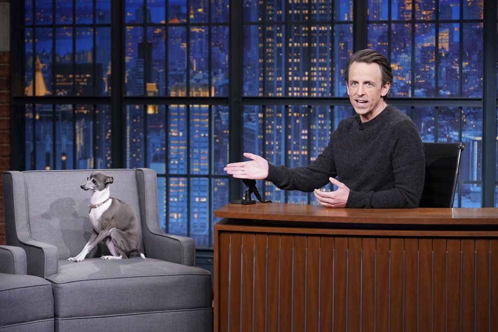 Seth Meyers Renews 'Late Night' Deal With NBC Through 2025 & Strikes Overall Deal With Universal Studio Group.jpg