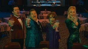 Andrew Rannells, James Corden, Meryl Streep and Nicole Kidman in 'The Prom'