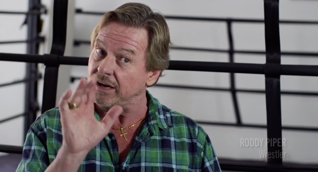 "'18th & Grand' Documentary: Roddy Piper Describes Walk To The Ring At Legendary Olympic Auditorium; ""I Know What A Gladiator In Rome Must've Felt Like"".jpg"