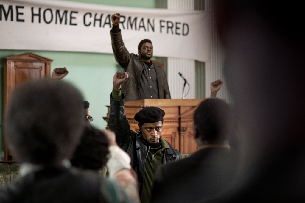 Daniel Kaluuya and LaKeith Stanfield in 'Judas and the Black Messiah'